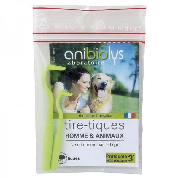 Tire-tiques Animaux et Homme - 2 tailles Anibiolys