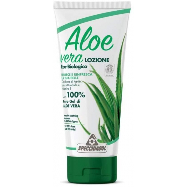 Gel Bio Aloe vera et Tea tree - Tube 200ml Specchiasol