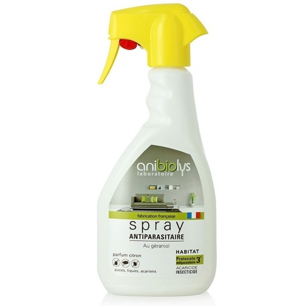 Spray antiparasitaire Habitat - 500ml Anibiolys