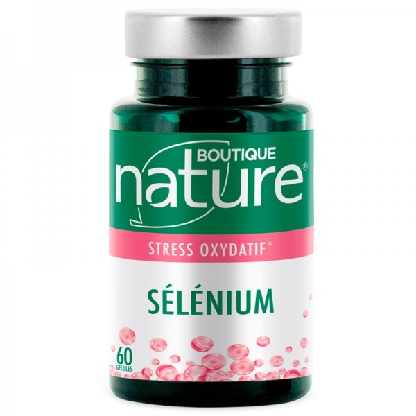Selenium - 60 gelules Boutique nature