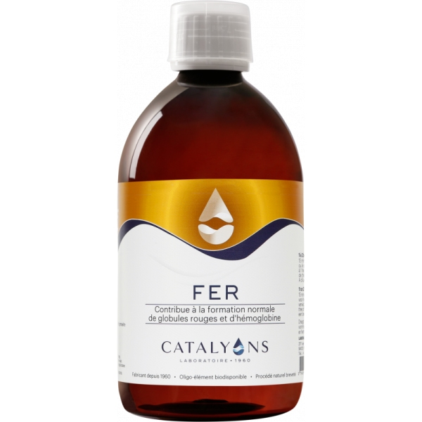 Fer - Flacon 500 ml Catalyons