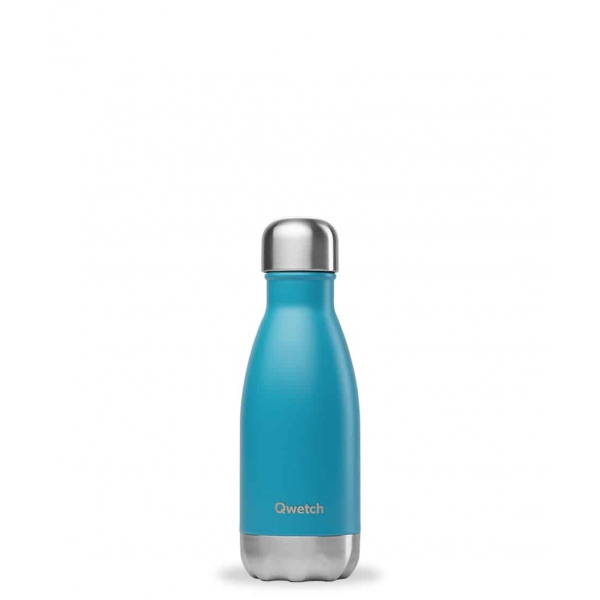 Bouteille isotherme Turquoise  - 260 ml Qwetch