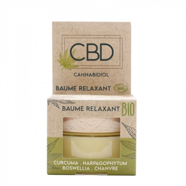 CBD Baume relaxant Bio - Pot 30 ml