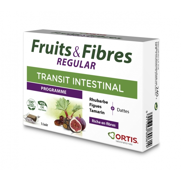 Fruits et Fibres Regular - 12 cubes Ortis