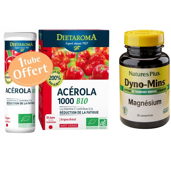 Pack Fatigue - Magnesium + Acerola - Phytoreponse