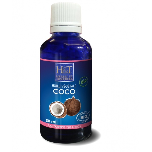 Coco - Huile vegetale Bio 50 ml Herbes Traditions