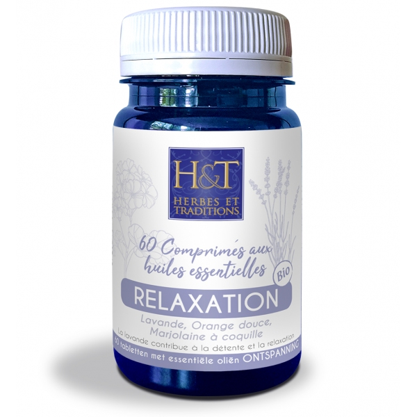 Comprimes Huiles essentielles Relaxation - 60 comprimes Herbes Traditions