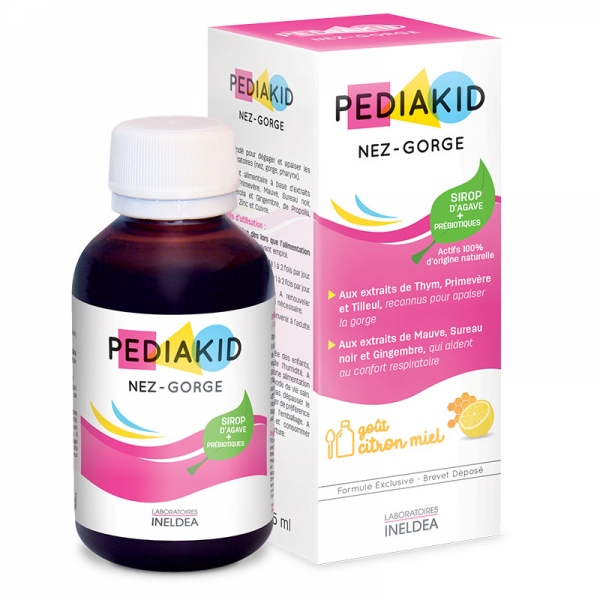 Sirop Nez Gorge - 125 ml Pediakid