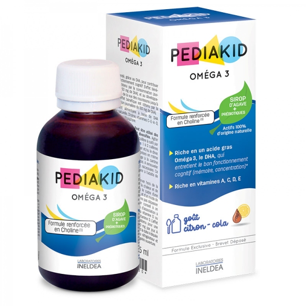 Omega 3 - 125 ml Pediakid