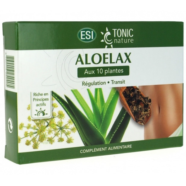 Aloelax Transit - 40 comprimes Tonic nature