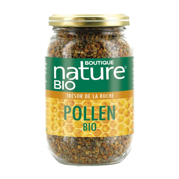 Pollen Bio multifloral - Pot 125g Boutique nature