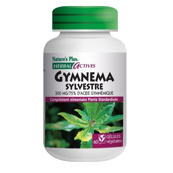 Gymnema 300 mg - 60 gelules Natures Plus