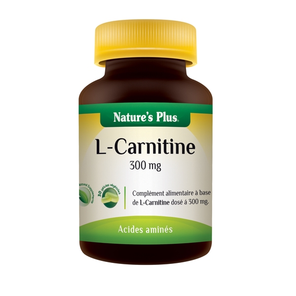 L Carnitine 300mg - 30 gélules Nature's Plus