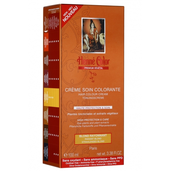 Creme Coloration Vegetale Blond Henne Color