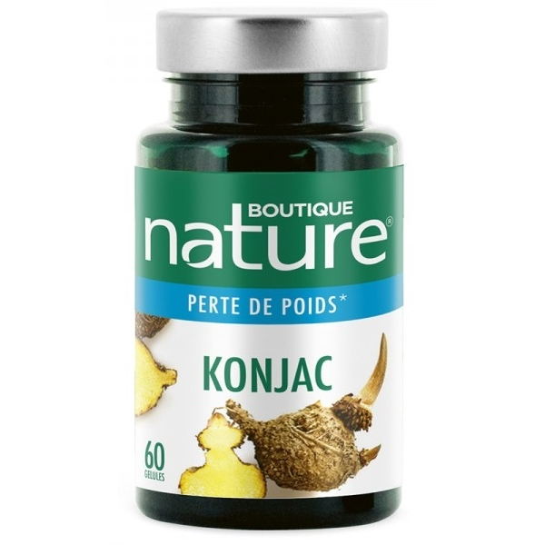 Konjac - 60 gelules Boutique nature