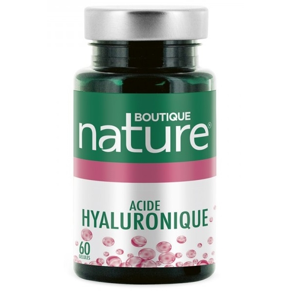 Acide Hyaluronique - 60 gelules Boutique nature