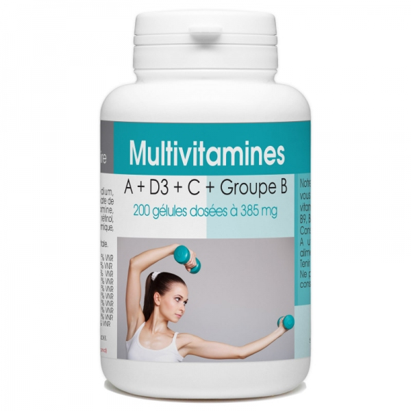 Multivitamines 200 gelules GPH